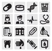 Medico set — Vettoriale Stock