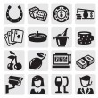 Royalty-Free Stock Imagen vectorial: Casino icons