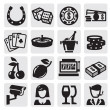 Stock Vector: Casino icons