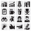 Office and business icons — Stock Vector #12652084