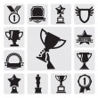 Trophy and awards — Imagen vectorial