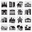 iconos de Hous — Vector de stock  #12763886
