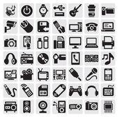 电子设备 — 图库矢量图片