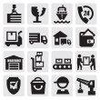 Shipping icons — Stock Vector #13162633