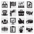 Election icons — Stock Vector
