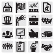 Election icons — Stock Vector #13244280