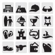 Vacation icons — Stock Vector #13365970