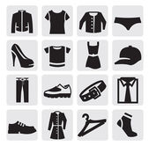 Clothes Icon — Vector de stock