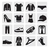 Icône de vêtements — Vecteur