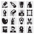 Royalty-Free Stock Vector Image: Creative icons