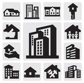 房价的图标 — 图库矢量图片