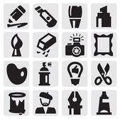 Creative icons — Stock Vector