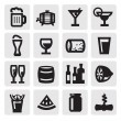 Beverages icons — Stock Vector #13403081