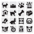 Royalty-Free Stock Vector Image: Pets icons