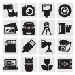 Camera icon — Stock Vector #13497291
