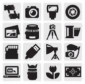 Camera icon — Vector de stock