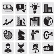 Stock Vector: Business Icons