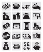 Finance icons — Stockvektor