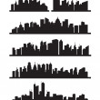 Big city icons — Stock Vector #13533189