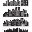Big city icons — Stock Vector #13533191