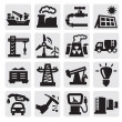 Industry icons — Stock Vector #13554015