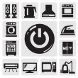 Home appliances icon — Stock Vector #13612255
