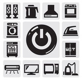 Home appliances icon — Stock Vector