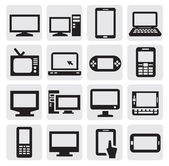 Urządzenia elektroniczne — Wektor stockowy