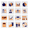 Office and business — Imagen vectorial