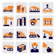 Construction Icons — Stock Vector #13634413