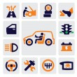 Auto icons — Stockvector #13649436