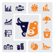 Business icons — Stock Vector #13649442