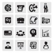 Office and business icons — Stock Vector #13754710