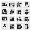 Book icons — Stock Vector #13778462