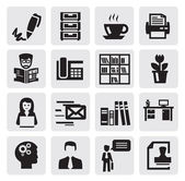 офис и бизнес — Cтоковый вектор