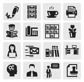 Oficina y negocios — Vector de stock