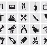 ikony Narzędzia — Wektor stockowy