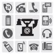 Phone icons — Stock Vector #13823477