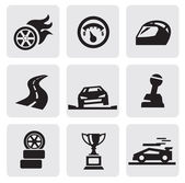 Race icons — Vecteur