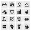 Hotel icons — Stock Vector #13867321