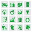 Eco energy icons — Stock Vector #13867324