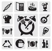 ícone de pequeno-almoço — Vetor de Stock