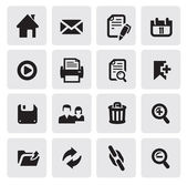 Web iconen — Stockvector