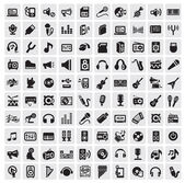 Music icons — Vector de stock