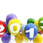 3d balloons 2013 — Stock Photo
