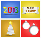 Christmas and New Year — Stock Vector