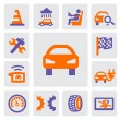 Stock Vector: Auto and repair icons