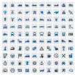 Transportation icons — Stock Vector #14868207
