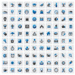 Web icons — Stockvector