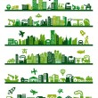 Green city — Stock Vector #14868301